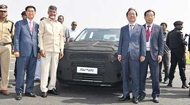 Kia Motors commences trial production at Anantapur plant in Andhra Pradesh