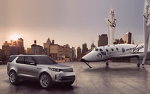 Land Rover global partnership with Virgin Galactic