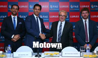 Lumax announces JV with Francisco Albero S.A.U to make Oxygen Sensors