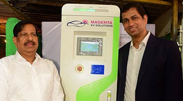 Magenta Power sets up India's first solar based charging station for EVs