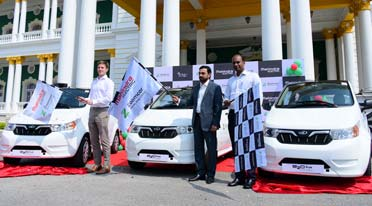 Mahindra Electric, Zoomcar launch EVs for shared mobility in Mysuru