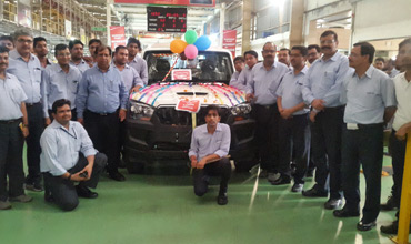 Mahindra Haridwar plant crosses production milestone of 7 lakh vehicles