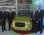 Mahindra Reva inaugurates its new plant