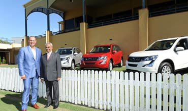 Mahindra XUV500 Automatic now in Australia