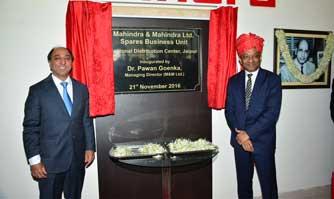 Mahindra inaugurates spare parts warehouse in Mahindra World City, Jaipur