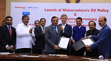 Mahindra signs MOUs with Maharashtra Govt. for EV manufacture and deployment