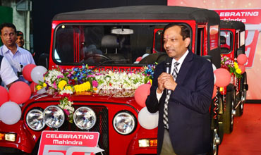 Mahindra's Automotive Sector rolls out its 5 millionth vehicle