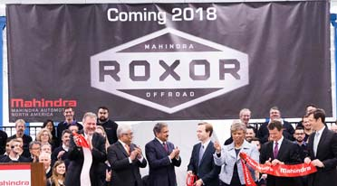 Mahindras open new manufacturing facility in America's Motown-Detroit