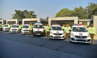 Maruti Suzuki presents 15 new vehicles to Haryana Police