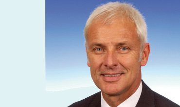 Matthias Müller succeeds Winterkorn as CEO of Volkswagen Group