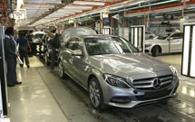 Merc C-Class plant starts production in E London