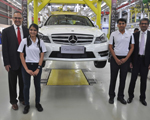 Mercedes-Benz celebrates 50,000 cars in India