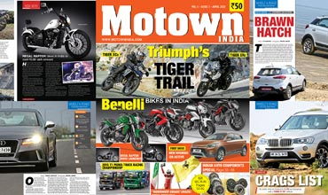 Motown India April 2015 issue out on stands