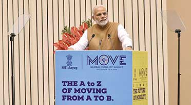 Need to create mobility eco-system in sync with nature: PM