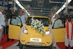 New plant for Tata Nano at Sanand inaugurated