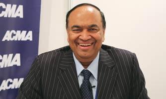 Nirmal. K. Minda appointed as President ACMA 2017-18