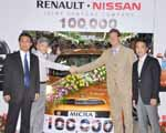 Nissan produces 100,000th Micra in India