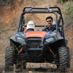 Off-road champion Polaris ties up with Eicher