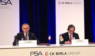 PSA Group, CK Birla Group sign two JVs with HMFCL and Avtec