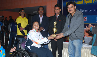 Polaris India sponsors Indian Paralympic Table Tennis Federation 2014