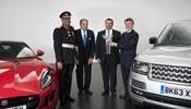 Queen's award for Jaguar Land Rover.