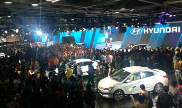 Record crowds at Auto Expo–The Motor Show 2016 as it concludes on Feb 9, 2016