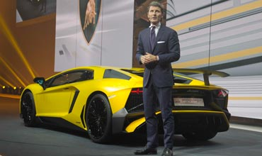 Record sales for Automobili Lamborghini in 2014