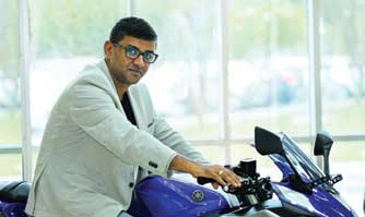 Roy Kurian promoted in Yamaha Motor India
