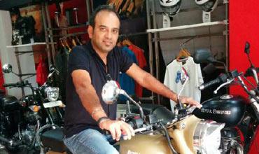 Rudratej Singh is President Royal Enfield