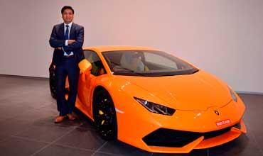 Sharad Agarwal appointed as Head of Lamborghini India