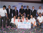 St Columba's School team wins SAEINDIA event