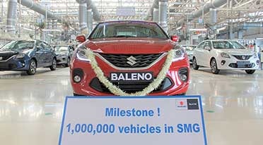 Suzuki's Gujarat Plant reaches 1 million units production milestone