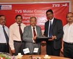 Syndicate Bank & TVS Motor Company sign MOU