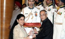 TAFE's Mallika Srinivasan conferred Padma Shri
