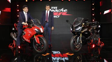 TVS Apache RR 310 launched for Rs 2.05 lakh; Marks entry into super-premium segment