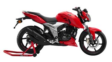 TVS Apache RTR 160 4v launched in Bangladesh