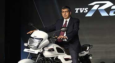 TVS Motor Company elevates K N Radhakrishnan as Director & CEO
