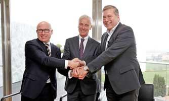 Tata Motors, Volkswagen Group , Skoda sign MOU for exploring JVs