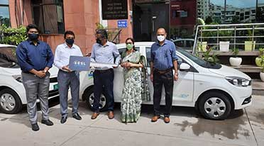 Tata Motors delivers Tata Tigor EVs to Ministry of Ayush