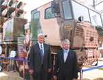 Tata Motors displays Anti-Terrorist combat vehicle