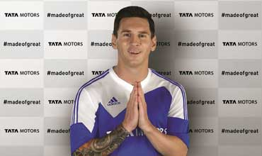 Tata Motors partners with the football Legend Lionel Messi