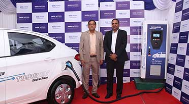 Tata Power, Tata Motors join hands to install e charging stations