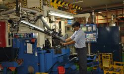 Tool down stir at Shriram Pistons Pathredi plant