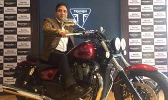 Triumph Motorcycles enters Andhra market