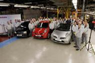 UK plant ends Micra production