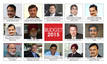 Union Budget reactions from the Indian auto industry