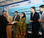 VW India get honoured for promoting water use effi