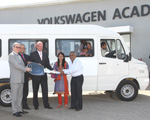Volkswagen India donates bus for children's home