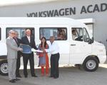 Volkswagen India donates bus for children's home