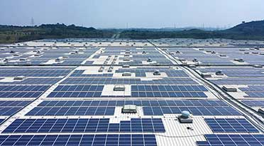 Volkswagen India gets rooftop solar PV power project in India at Chakan facility